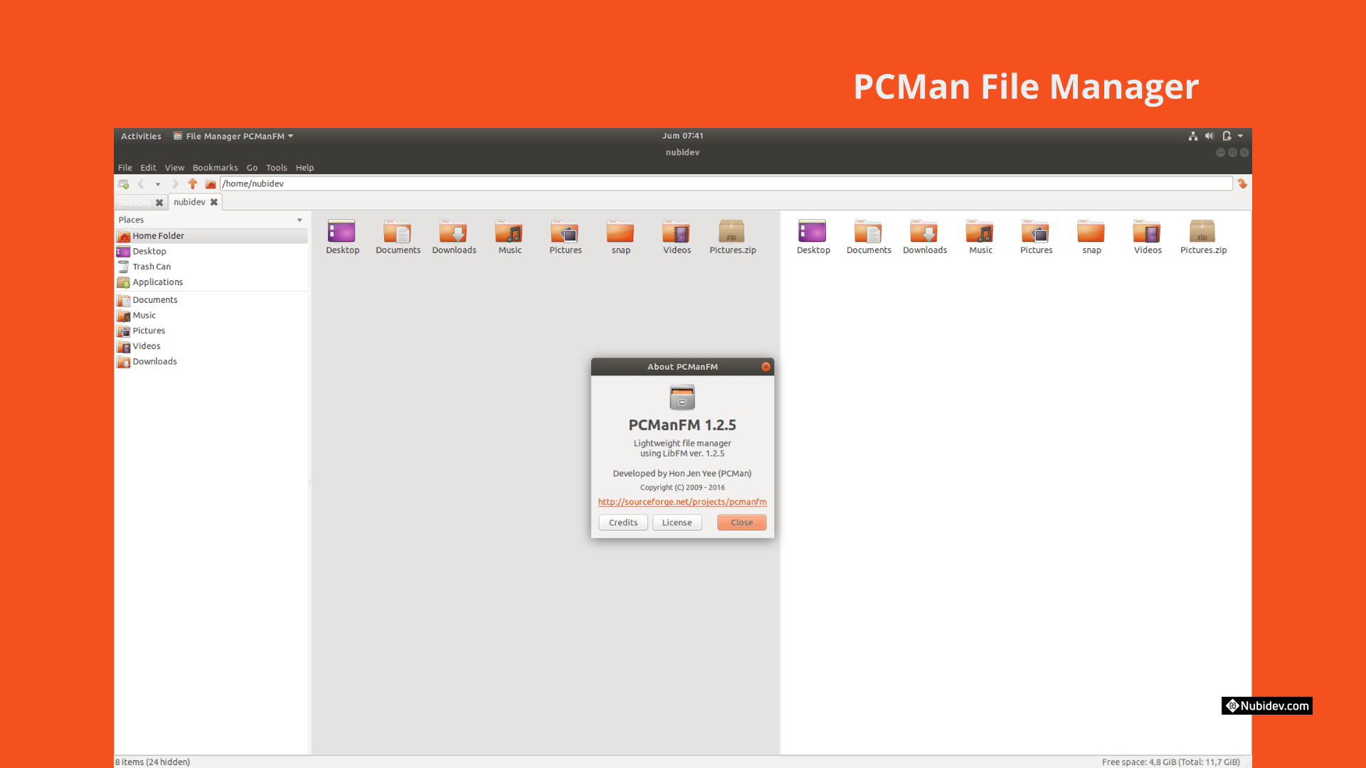PCMan File Manager