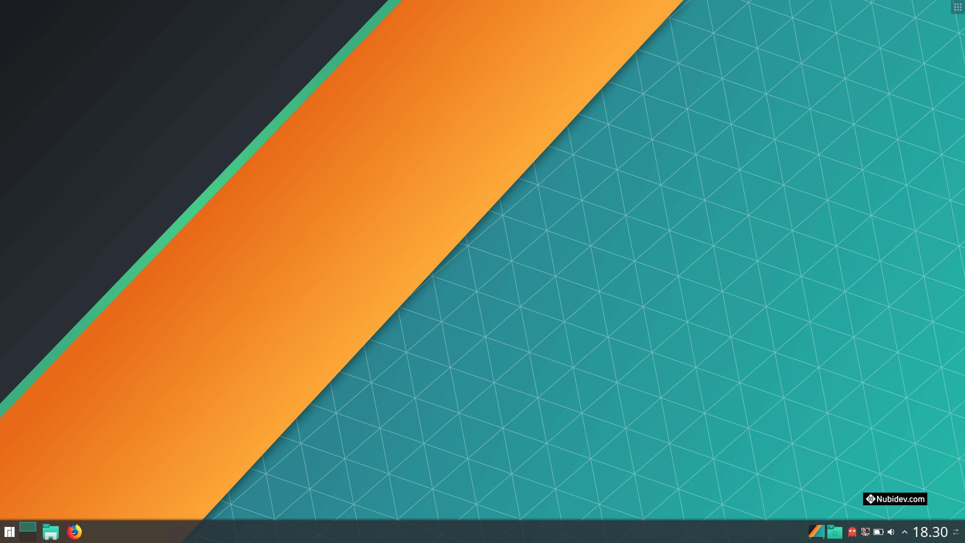 Manjaro KDE Desktop