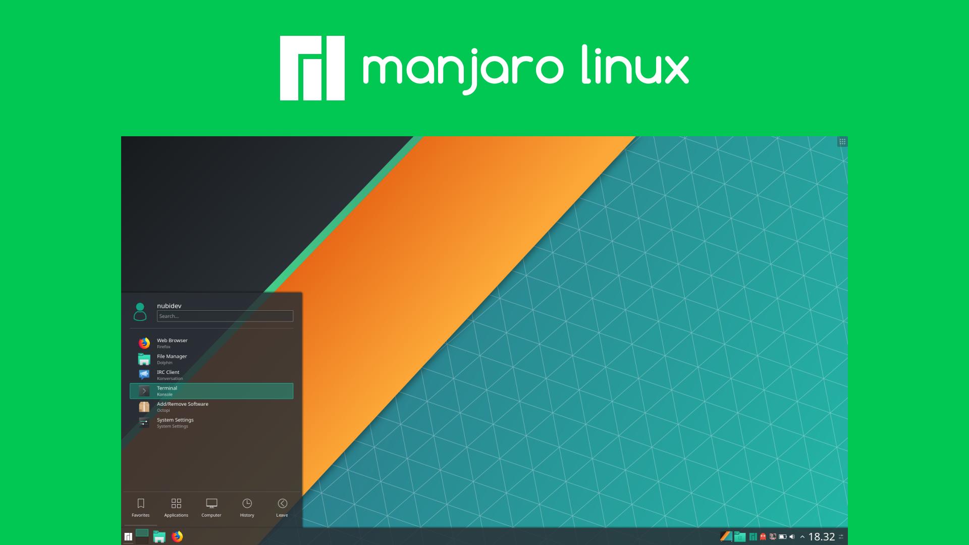 Manjaro Distro Linux Elegant berbasis Arch Linux - Nubidev